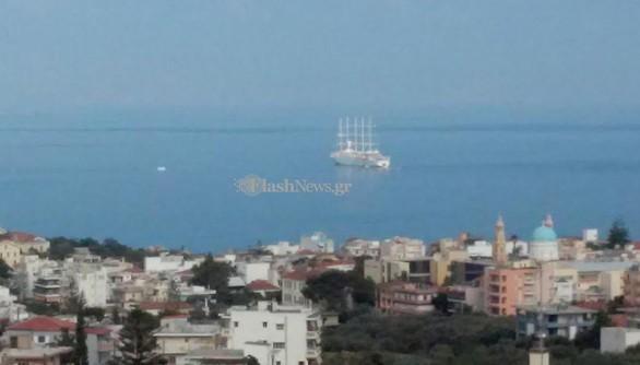 Στα Χανιά το μεγαλύτερο ιστιοφόρο κρουαζιερόπλοιο στον κόσμο (pics)