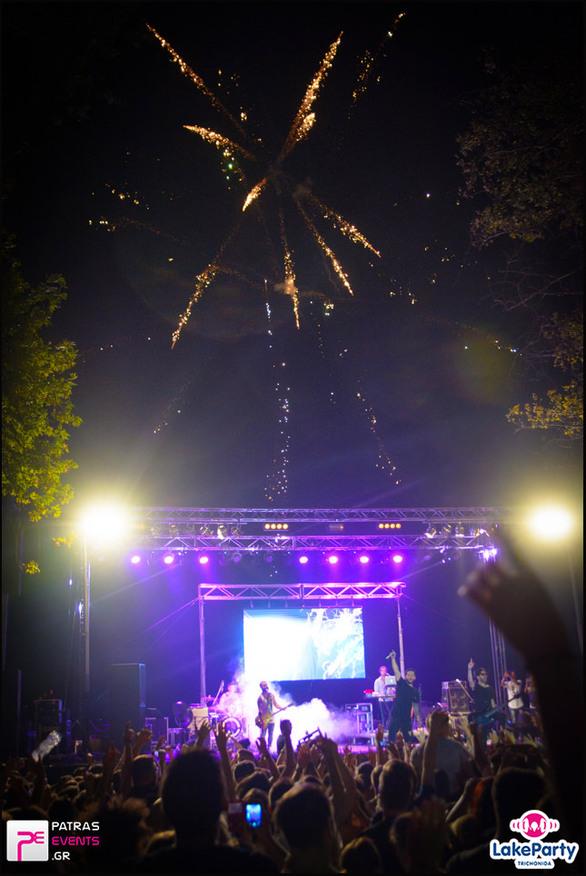 Lake Party Τριχωνίδα Live Μέλισσες - Rec - Playmen - The Mode - Ghali 18-08-16 Part 1/8