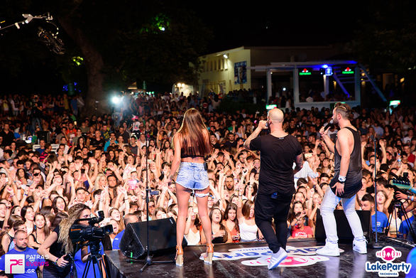 Lake Party Τριχωνίδα Live Μέλισσες - Rec - Playmen - The Mode - Ghali 18-08-16 Part 2/8
