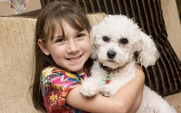 Ο σκύλος που «προβλέπει» τις επιληπτικές κρίσεις 9χρονου κοριτσιού (pics)