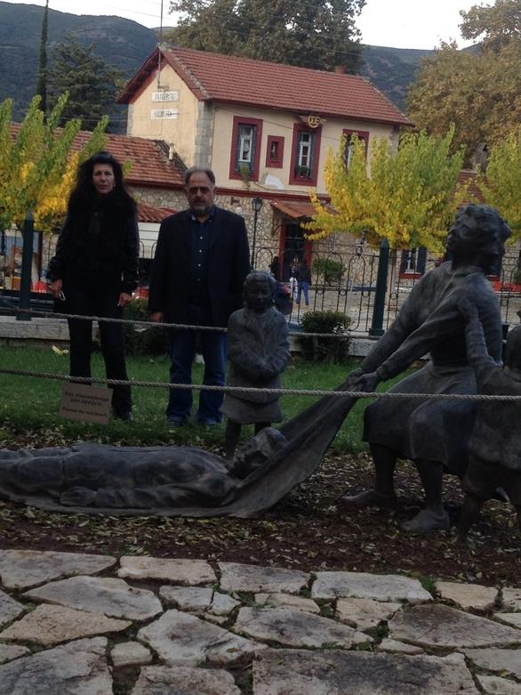 Αχαΐα: Στα Καλάβρυτα η εικαστικός Σοφία Μητράκη (pics)