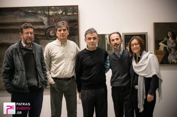 """Οι Πατρινοί """"διαπραγματεύονται"""" εκ νέου την σχέση τους με την εικαστική τέχνη - Τι λέει ο Γιώργος Ρόρρης (pics+video)"""