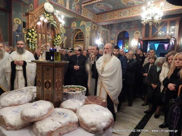 Αχαΐα: Με λαμπρότητα ο εορτασμός της Αγίας Βαρβάρας (pics)