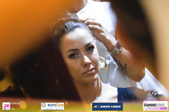 The Diamond Events Wedding Show στο  Astir Hotel (Backstage) 04-12-16