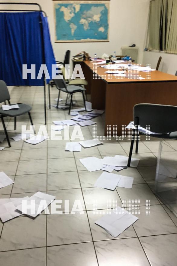 Δυτική Ελλάδα: Ένταση και επεισόδια στις εκλογές του ΤΟΕΒ Μυρτουντίων (pics)