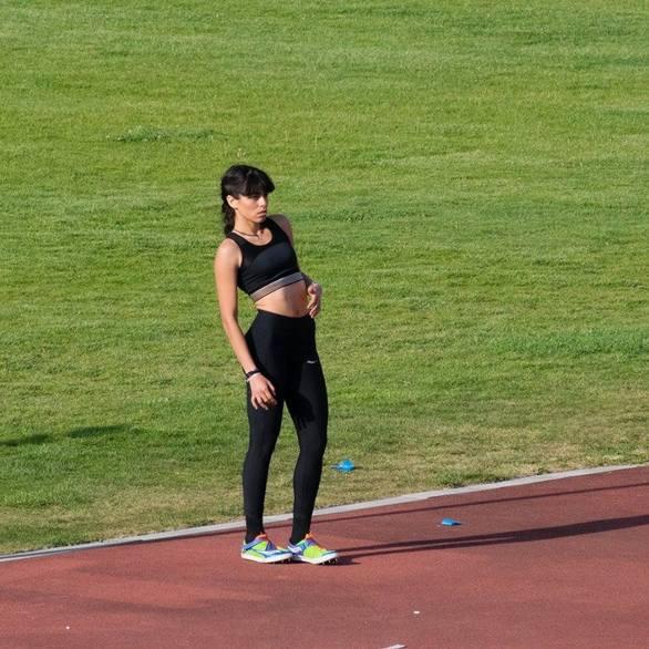 Πάτρα: Η Κατερίνα Κυριακοπούλου δεν προλαβαίνει τους αγώνες του κλειστού στίβου (pics)