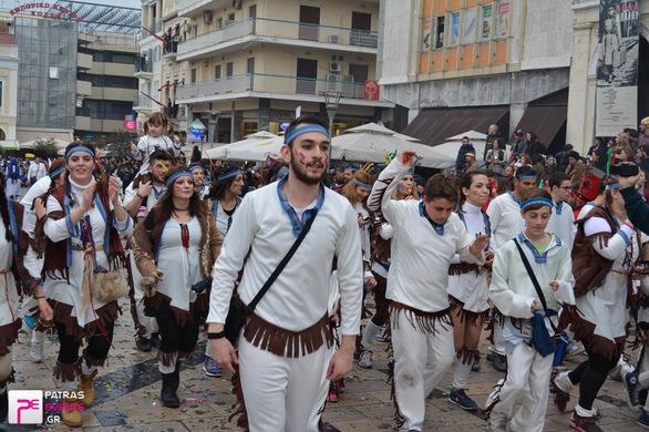Group 124: ΙΝΔΙΑΝΟΙ  - Μεγάλη παρέλαση 26-02-17