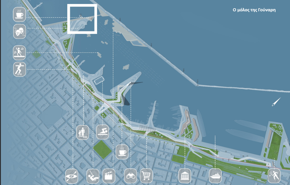 Waterplaza, αποβάθρες, πισίνες, πλωτές πλατφόρμες και πεζογέφυρες στο παλαιό λιμάνι της Πάτρας! (pics)
