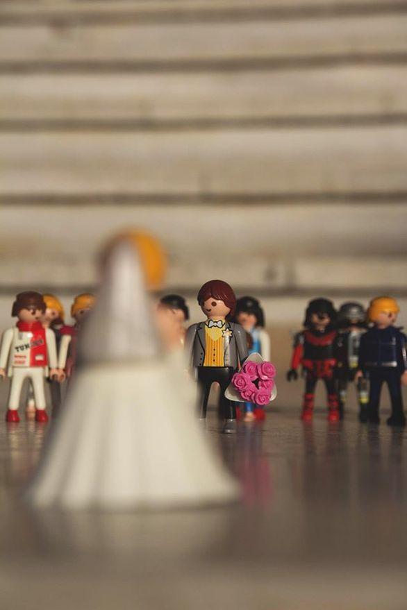 """Ένας γάμος με Playmobil... """"έκλεψε"""" τις εντυπώσεις στην Πάτρα! (φωτο)"""