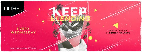 Keep Blending at Dose