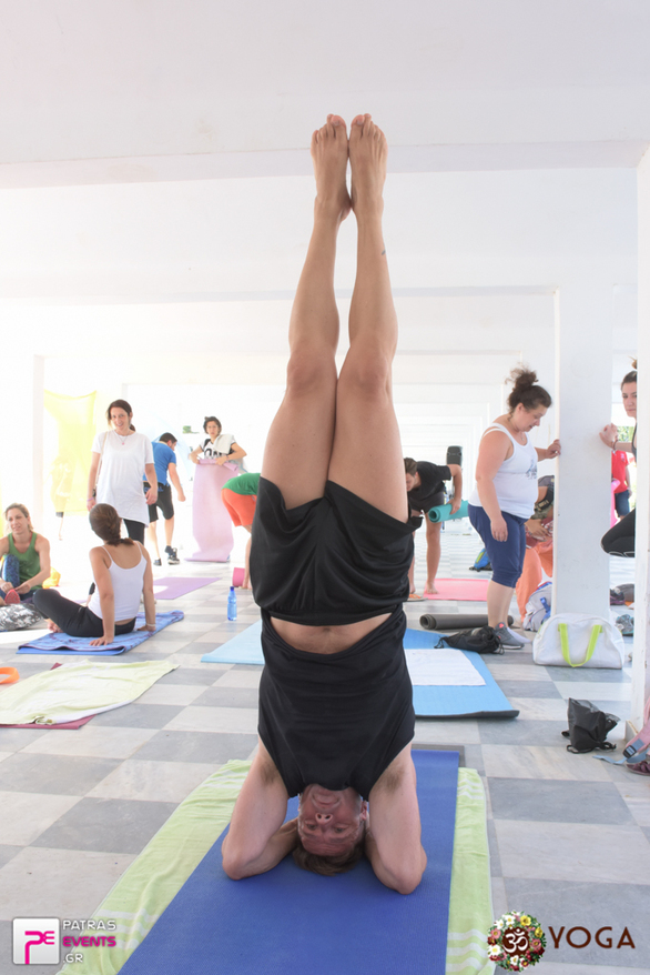 International Yoga Day στην Πλάζ 18-06-17 Part 2/2