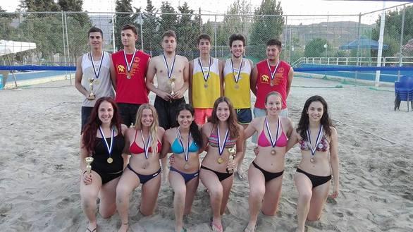 Με επιτυχία διεξήχθη το Τουρνουά Beach volley Region Κ-19 της ΕΣΠΕΠ (pics)