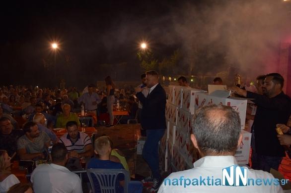 """Ναύπακτος - """"Βουνά"""" από σαμπάνιες στα πόδια του Γιώργου Βελισσάρη"""