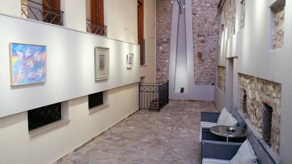 Συνεχίζεται με μεγάλο ενδιαφέρον η έκθεση ζωγραφικής στο Art Lepanto στο γραφικό λιμάνι της Ναυπάκτου! (φωτο)