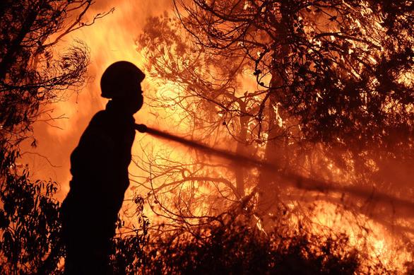 Πύρινη κόλαση σε Κάλαμο-Βαρνάβα: Η δραματική έκκληση για εκκένωση οικισμών (φωτο+video)