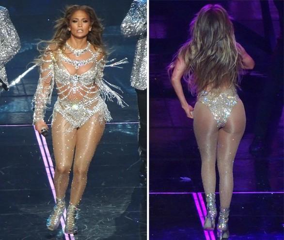 Απαστράπτουσα η Jennifer Lopez σε εμφάνισή της στο Λας Βέγκας (φωτο)