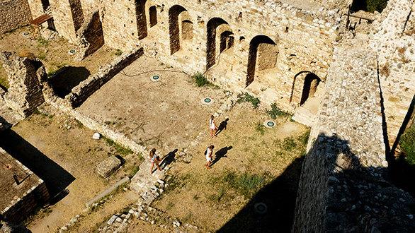 Άποψη του Κάστρου της Πάτρας. (Φωτογραφία: ΝΙΚΟΣ ΚΟΚΚΑΣ)