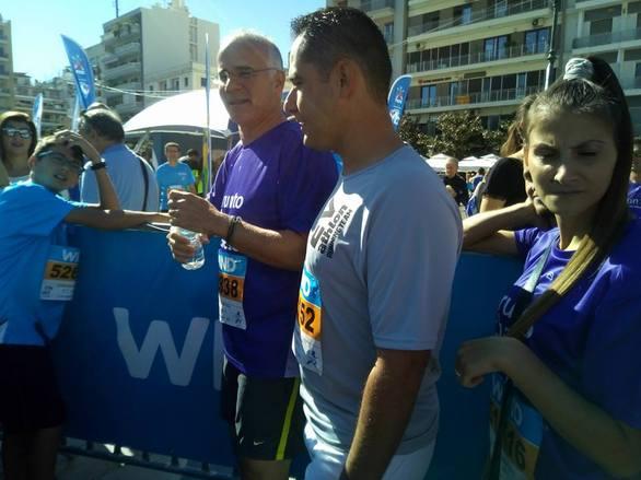 Στην Πάτρα ο Γιώργος Μητσικώστας για το Run Greece!