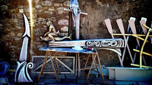 Ο Eno από την Πάτρα ένας εκ των δημιουργών του υπερθεάματος που παρακολουθήσαμε στη Ναύπακτο!