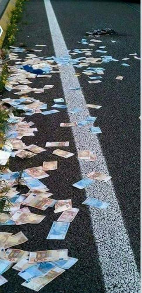 Ούτε πλαστά, ούτε original ευρώ στην Πατρών Κορίνθου!