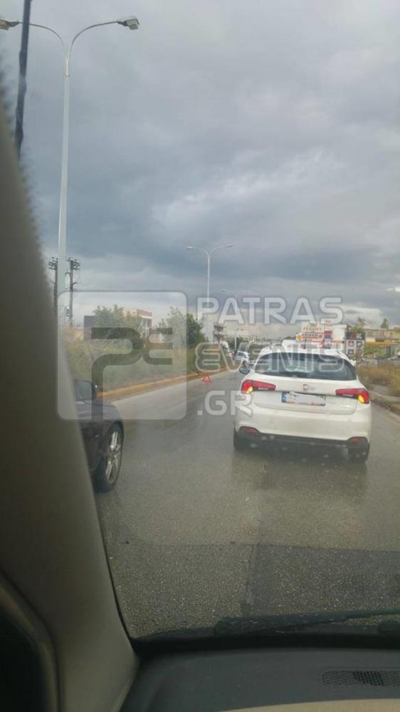 Τροχαίο στην εθνική οδό Πατρών Αθηνών - Δείτε φωτογραφίες