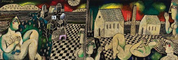 """""""Δημοπρασία έργων τέχνης επώνυμων καλλιτεχνών"""" στο King George Hall"""