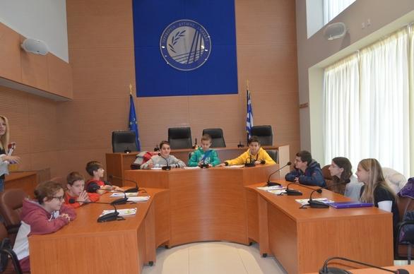 Πάτρα: Σε ρόλο Συμβούλων οι μαθητές του 45ου Δημοτικού Σχολείου