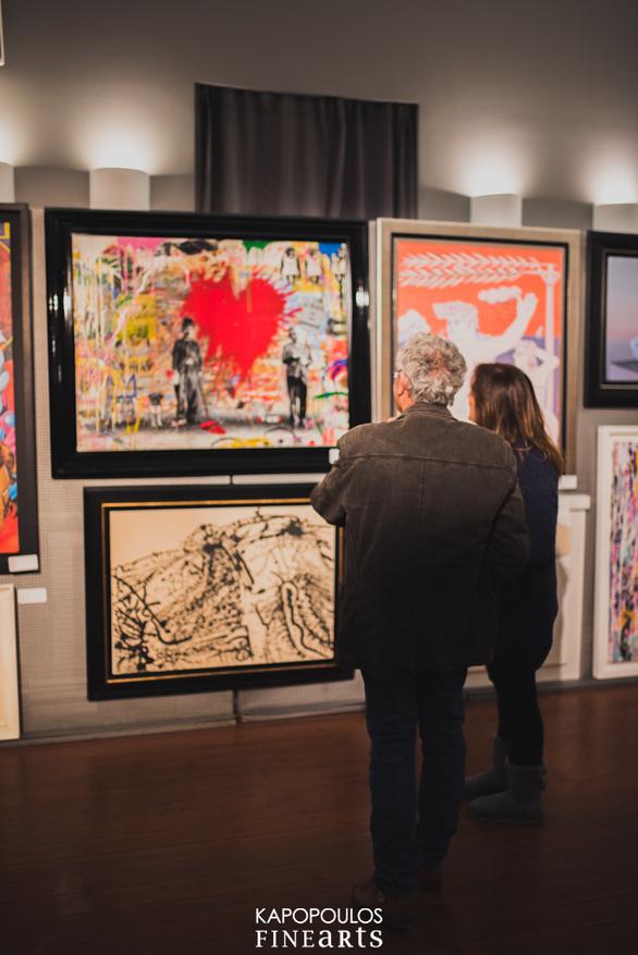 Δεκάδες καλλιτέχνες, 97 έργα τέχνης, μια... grande γιορτή απόψε στην πόλη! (φωτο+vids)
