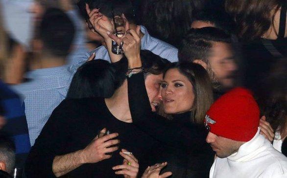 Μαίρη Συνατσάκη - Σπύρος Χατζηαγγελάκης: Διαχυτικοί σε βραδινή τους έξοδο (φωτο)