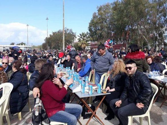 Το γλέντι με Βελισσάρη και Γιαννούλα ξεκίνησε στο Νότιο Πάρκο της Πάτρας (pics+video)