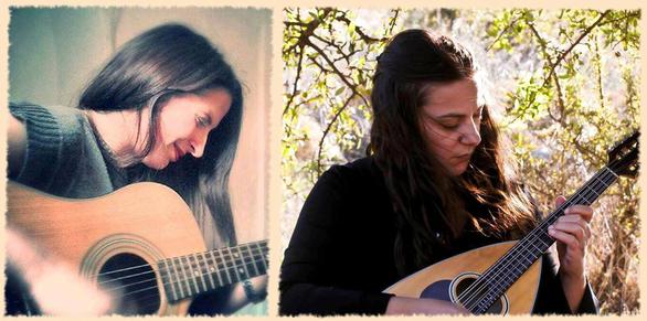 Εβίνα Ακρίδα και Ελένη Λάππα live στο καφέ Γέφυρες
