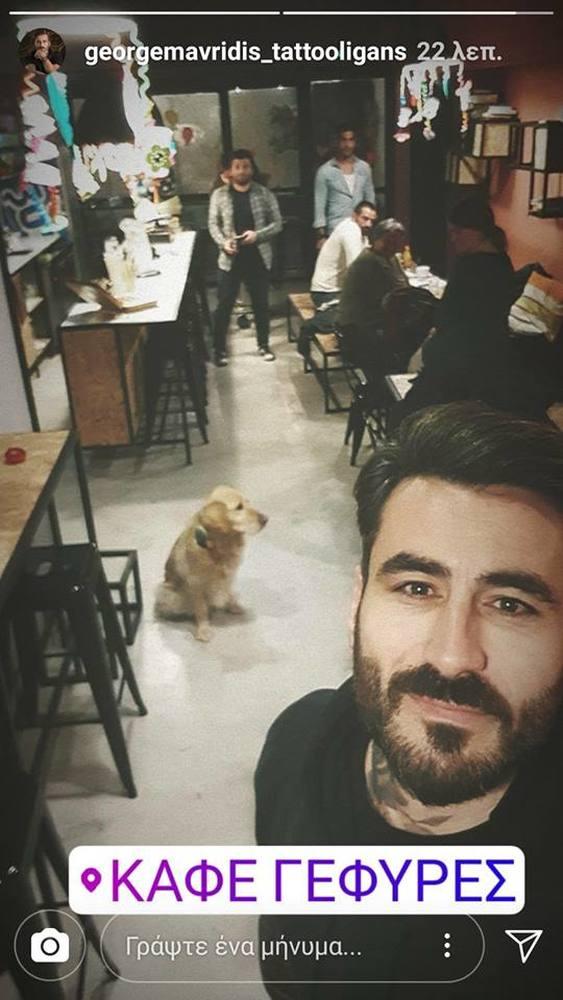 """Ο Γιώργος Μαυρίδης επισκέφθηκε το καφέ """"Γέφυρες"""" στην Πάτρα - Η σημαντική κίνηση που ετοιμάζει με Κατσινόπουλο & Αναδιώτη"""