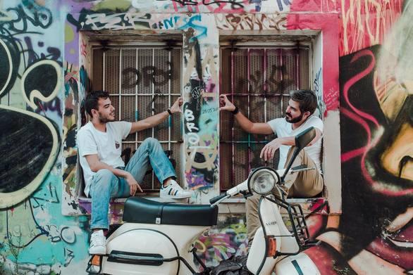Σταύρος Ναθαναήλ & Θοδωρής Ταυλάς στο Studio 46 by Mods