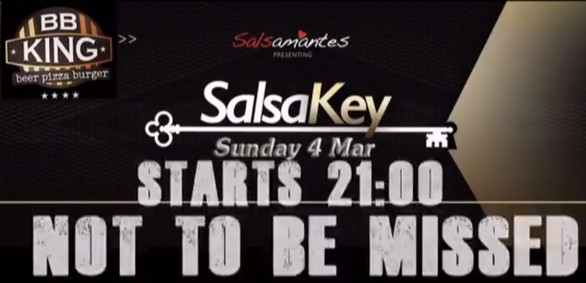 SalsaKey SalSunday με άρωμα γυναίκας & ZumbaIN at Bb King