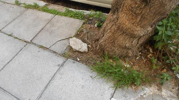 Πάτρα: Η υγρασία και η φθορά «τρώει» τα πεζοδρόμια - Ζητείται παρέμβαση (pics)