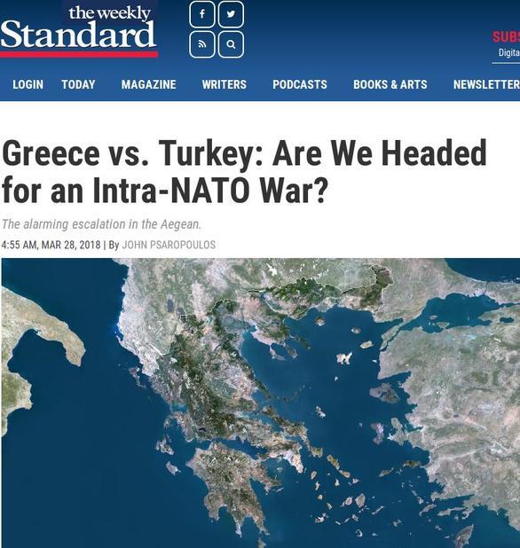 Αυξανόμενος ο κίνδυνος ελληνοτουρκικού πολέμου
