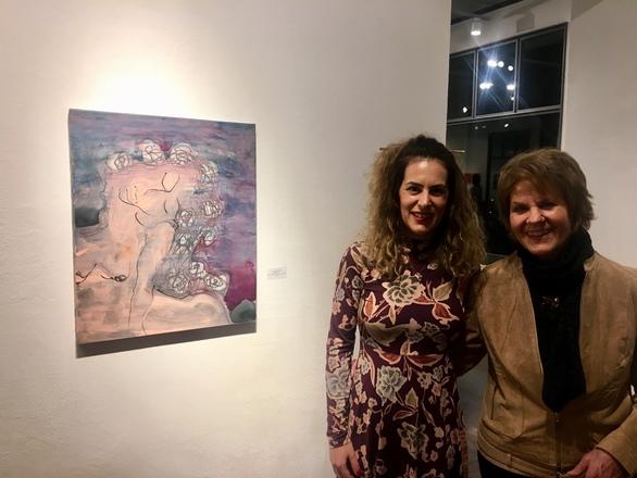 Έκθεσης Ζωγραφικής της Εικαστικού Αναστασίας Γκινάκη στην Galerie Anixis