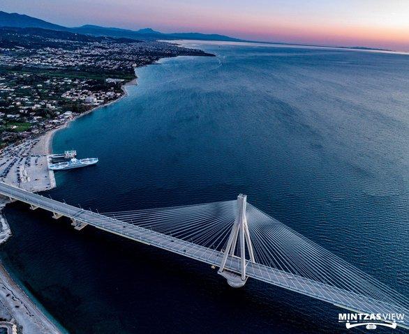 Γέφυρα Ρίου - Αντιρρίου: Κοιτώντας από ψηλά ένα όραμα... που έγινε πραγματικότητα (φωτο)
