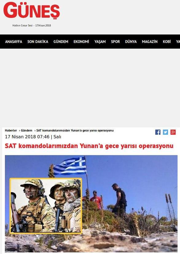 """Τουρκικά ΜΜΕ: """"Η Άγκυρα ενημέρωσε την Αθήνα για τη σημαία και μετά την κατέβασε"""""""