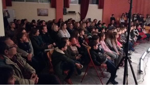 Απόγευμα στο 18ο Δημοτικό Σχολείο  στα Ζαρουχλέικα για γονείς και παιδιά