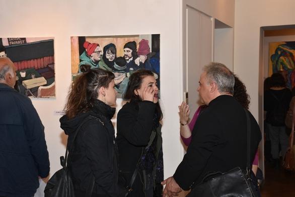 Με επιτυχία τα εγκαίνια της 10ης Εαρινής Παμπατραϊκής Έκθεσης Τέχνης (pics)