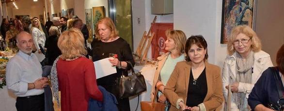 """Πάτρα: Με επιτυχία πραγματοποιήθηκαν τα εγκαίνια της έκθεσης """"Τέχνης Λεπτομέρειες"""" (pics)"""