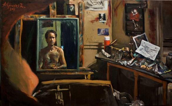 """Ατομική Έκθεση Ζωγραφικής στη Galerie """"f"""""""