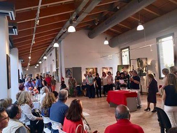 """Πάτρα - Με επιτυχία πραγματοποιήθηκε η τελετή λήξης της έκθεσης ζωγραφικής """"Τέχνης λεπτομέρειες""""!"""