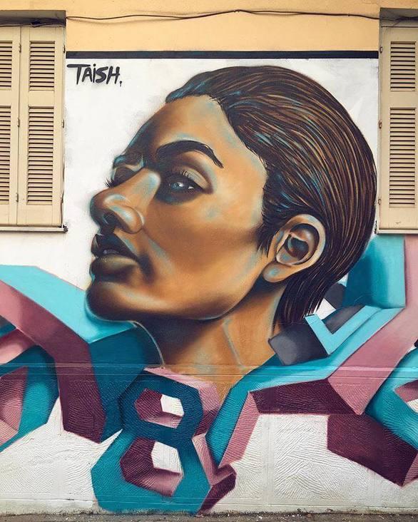 Πάτρα - Η δημιουργία ενός γκράφιτι στον πεζόδρομο της Ηφαίστου μέσα από ένα βίντεο!