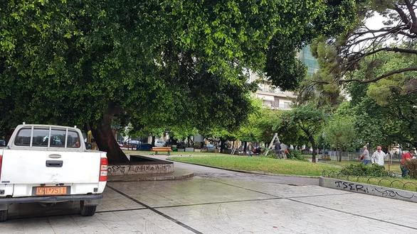 Καθαρίστηκε η πλατεία Όλγας! (φωτο)