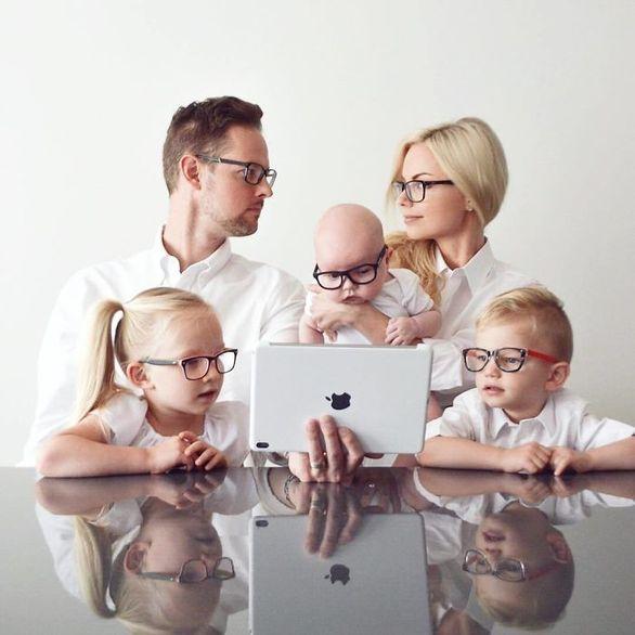 """Η φωτογραφική σειρά """"Our family bites"""" θα σας εντυπωσιάσει!"""