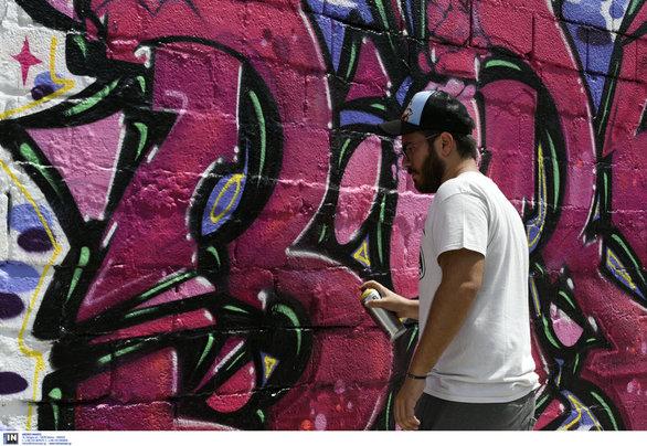 Άλιμος - Εκπληκτικές απεικονίσεις στους τοίχους των Τραχώνων (φωτο)