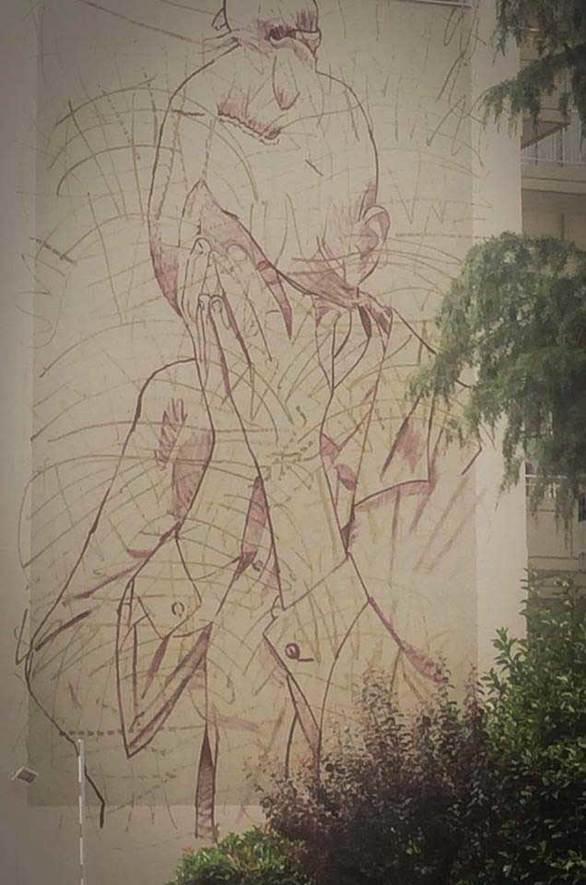 """""""Ψηλά το κεφάλι"""" - Η νέα τοιχογραφία που στολίζει την Πάτρα, περνάει ένα δυνατό μήνυμα! (φωτο)"""
