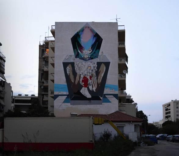 Το 3ο Διεθνές Street Art Festival δημιουργεί κλίμα ευφορίας και θετικής ενέργειας στην Πάτρα!